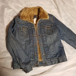 Vtg Gap Sherpa Denim Jacket